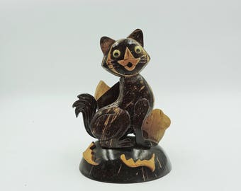Replica Coconut Wood Cat