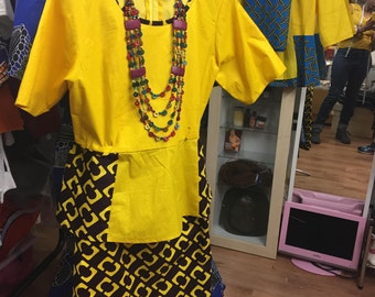 Ankara skirt and top