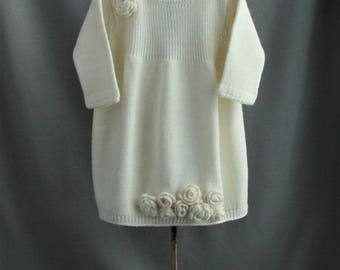 white dress| girl's dress| girl's clothing| baby goods