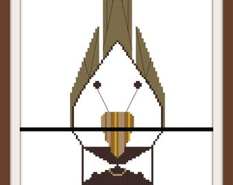 Chickadee I Cross Stitch Pattern (Digital Download)