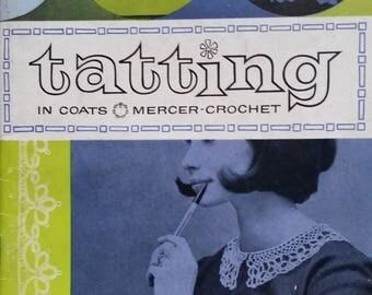 Tatting in Coats Mercer Crochet Booklet