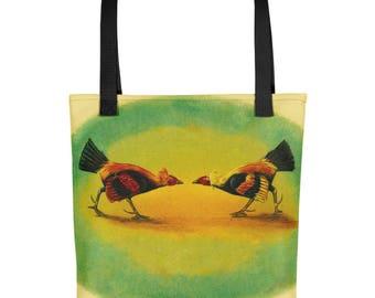 Vintage Roosters - Tote Bag
