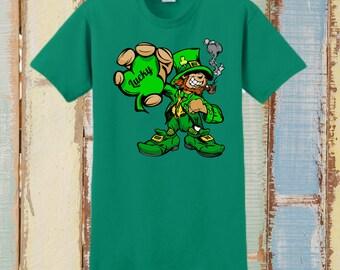 St patricks Tshirt, St Patricks Shirt, St Patricks Day Tee, St Patricks Gift, Irish Tshirt, Womens St Pattys Day, St Pattys Day Shirt