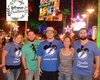 Tampa Bay Lightning Kingdom Disney Inspired Shirt