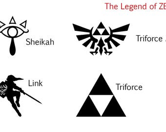 The Legend of ZELDA Decal (4 To Choose From)