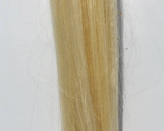 Bleached Blonde Hair Ponytail
