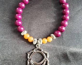 Sacral Charka Bracelet