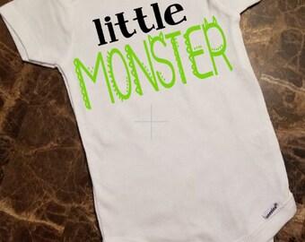 Little Monster Undershirt for Babies