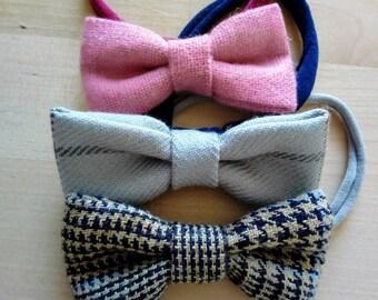 Tweed Headbands Set