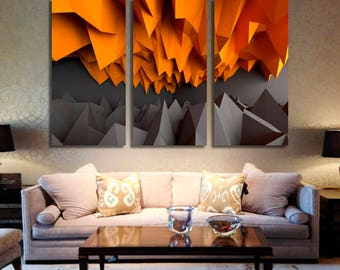 Abstract Wall Art Abstract Canvas Print Abstract Large Wall Decor Abstract Canvas Abstract Poster Print Abstract Home Decor Gift for She