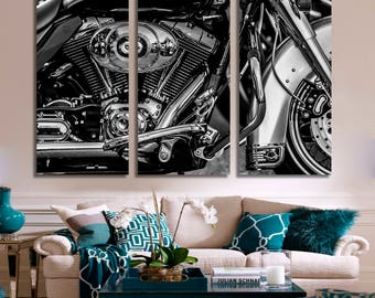 Engine, Engine canvas, black and white, motor art, car engine, car engine canvas, engine compartment, motor engine for car, engine poster