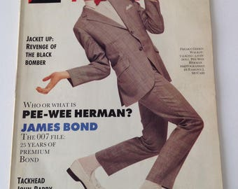 The Face Magazine - July 1987 - Pee Wee Herman