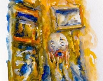 "Yellow Room (7 x 10"" Print)"