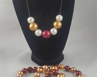 Team necklace- FSU Seminoles