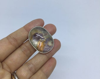 One of a kind agate ring