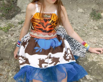 Rubypearl Girls' Springbok Dress