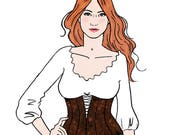 Reserved for Kelly Atwood: 4 new paperdoll outfits