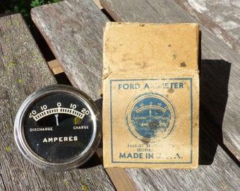 Ford Ammeter M-126 Midget dead stock for 1926-1927 Model T Model A