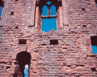 Photography England, Castle Print, Historic Architecture, UK Fine Art Print, English Castle Arch, Medieval Castle, Girls Room Decor, Castles