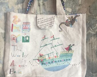 Adventures In Reading Tote Bag