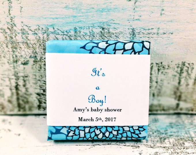 It's a Boy! soap favors