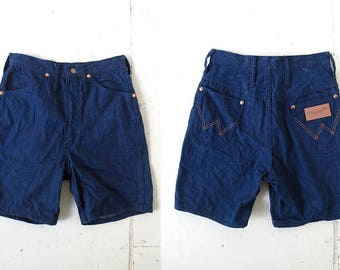 70s Denim Shorts | Wrangler Shorts | Jean Shorts | 24W XXS