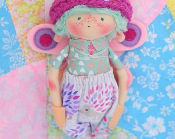"Skipper - 10"" Handmade Doll"