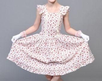 Custom Mad Hatter Tea Party Dress