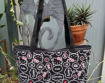 Kitty #2 Shopping or Record Bag