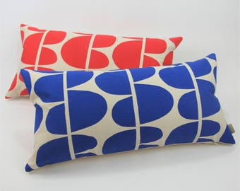 Screenprint Slim Rock Cushion
