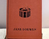 Millinery - Jane Loewen 1926 Orig 1st Edition Hard Copy, Excellent Condition,Rare Collector Copy of Flapper Hat-Making Design and Techniques
