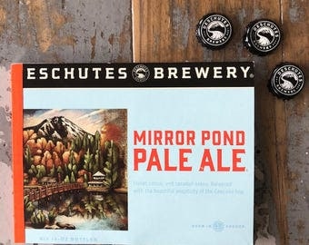 Recycled Six Pack Notebook Deschutes Brewery Mirror Pond Pale Ale