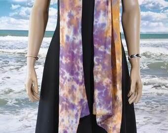 Tye Dyed Silk Scarf