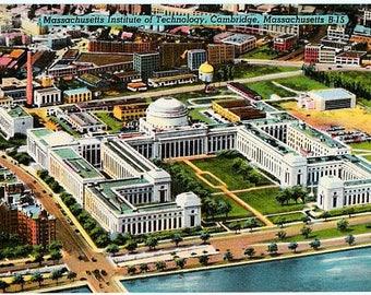 Vintage Postcard - Massachusetts Institute of Technology, Cambridge, Massachusetts (Unused)