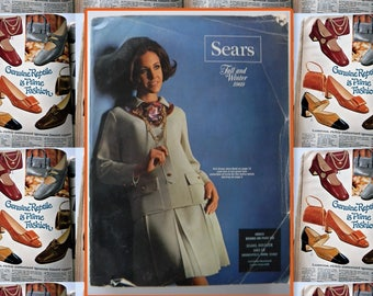 Vintage Sears catalog Fall Winter 1969