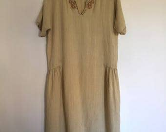 1920's Reproduction Frock/ Shift Dress/ Tunic
