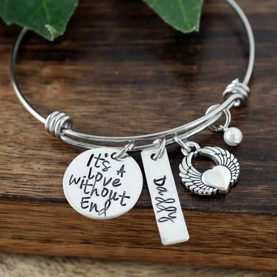 Personalized Charm Bracelet, Memorial Bracelet, Remembrance Bracelet, Loss of Child, Bereavement Bracelet, Funeral Gift, Loss of Loved one