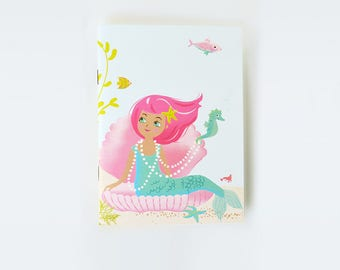 NOTEBOOK Sketchbook Journal - mermaids