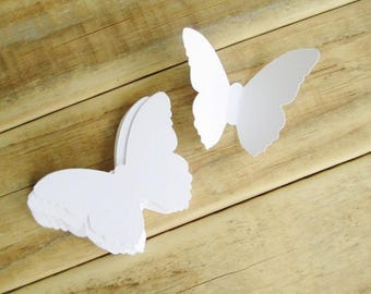 Large 3 Inch Butterfly Die Cuts