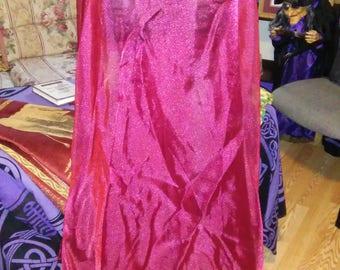 Red Organza 5 yd Bellydance Circle Skirt- sk-031
