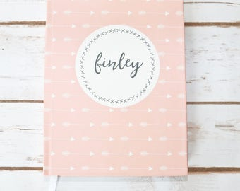 Journal | Guest Book, Personalized, Baby Gift, Baby Shower, Pregnancy Journal, Baby Journal