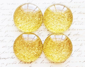 Glass Magnets - Magnets - Gold Magnets - Office Supplies - Decorative Magnets - Gold Magnets - Office Accessories - Fridge Magnets - Gold