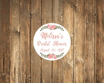 Custom Wedding Favor Stickers-Bridal Shower Favor Stickers- Favor stickers- Bridal Shower Favor Sticker