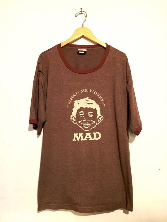 MAD TV Ringer Tee Shirt