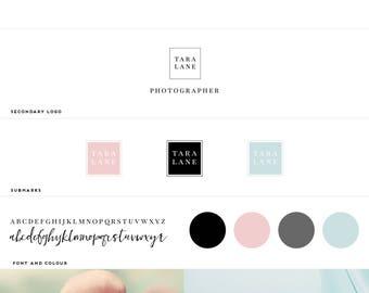 Pre-Made Mini Branding Kit / Mini Branding Package / Modern Logo / Branding /  Minimal Branding  / Pattern & Type