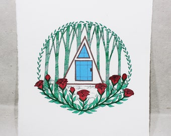 The Pyramid - Limited Edition Hand-Pulled Screen Print