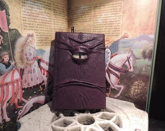 Journal---Mythical Beast Book (The Watchful Eye-Burgundy  with Gold eye)
