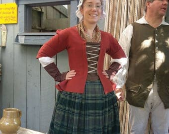 Time Travel Fantasy Colonial Costume