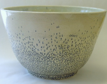 Binary Mixing or Serving Bowl