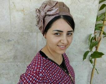 Jewish hair snood, israel clothing,snood, hair covering, head scarfs,by oshratdesignz